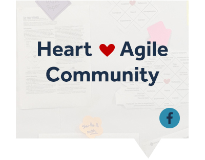 Heart of Agile Facebook Community graphic